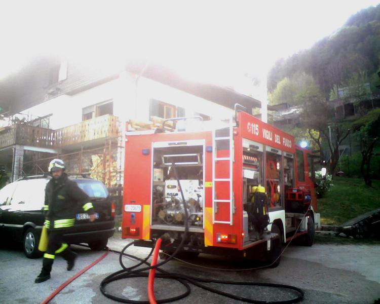 Incendio a Tai di Cadore