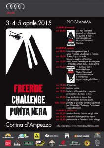 Freeride Challenge Punta Nera 2015: intervista alla Guida Alpina Massimo da Pozzo – 1 Aprile 2015