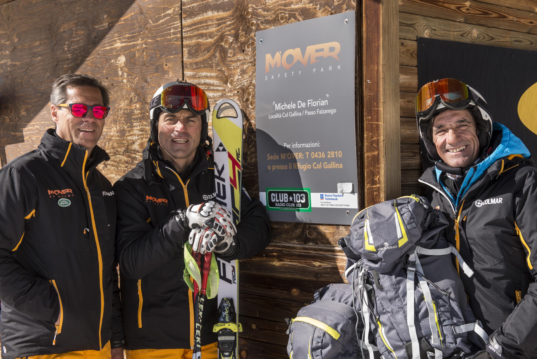 """Aspettando i """"40"""": il nostro contributo al M'Over Safety Camp dedicato a Michele De Florian – Cortina Col Gallina – inverno 2014"""
