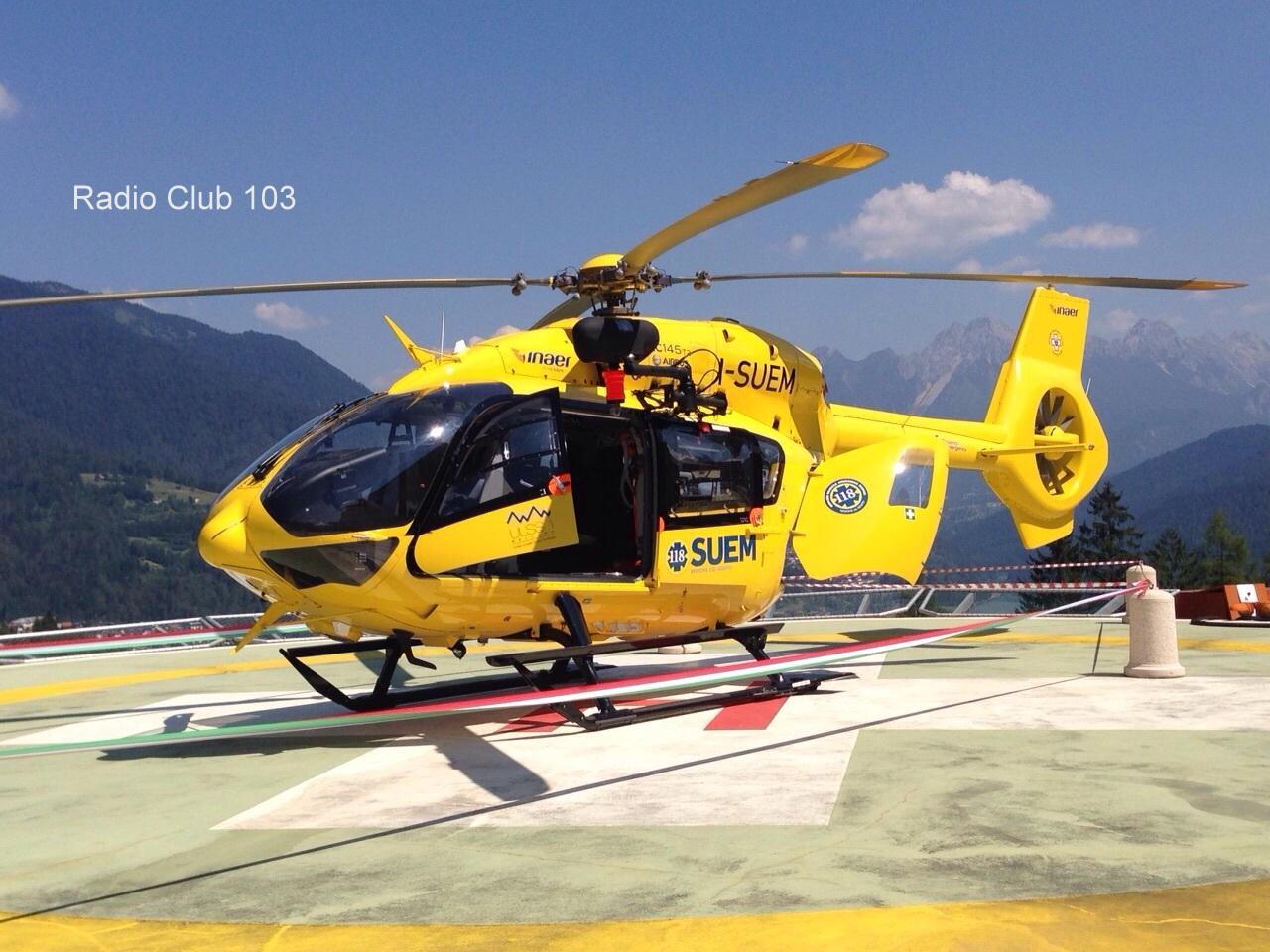 Elicottero Falco : A misurina con l elicottero privato anziano muore colto