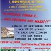 """Sabato 19 settembre a Domegge di Cadore nella sala San Giorgio alle 20:30 """"Il Piccolo Tomas e ….una rotonda sul mare"""""""
