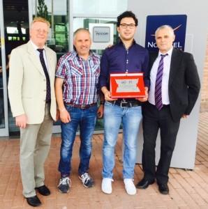 Calcio Club 103 riceve il Premio Stampa della FIGC