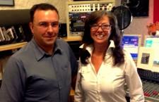 Marco Annostini in studio con Barbara Paolazzi
