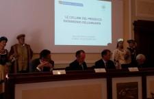 Un momento della presentazione della candidatura delle Colline del Prosecco a Patrimonio dell'Umanità.