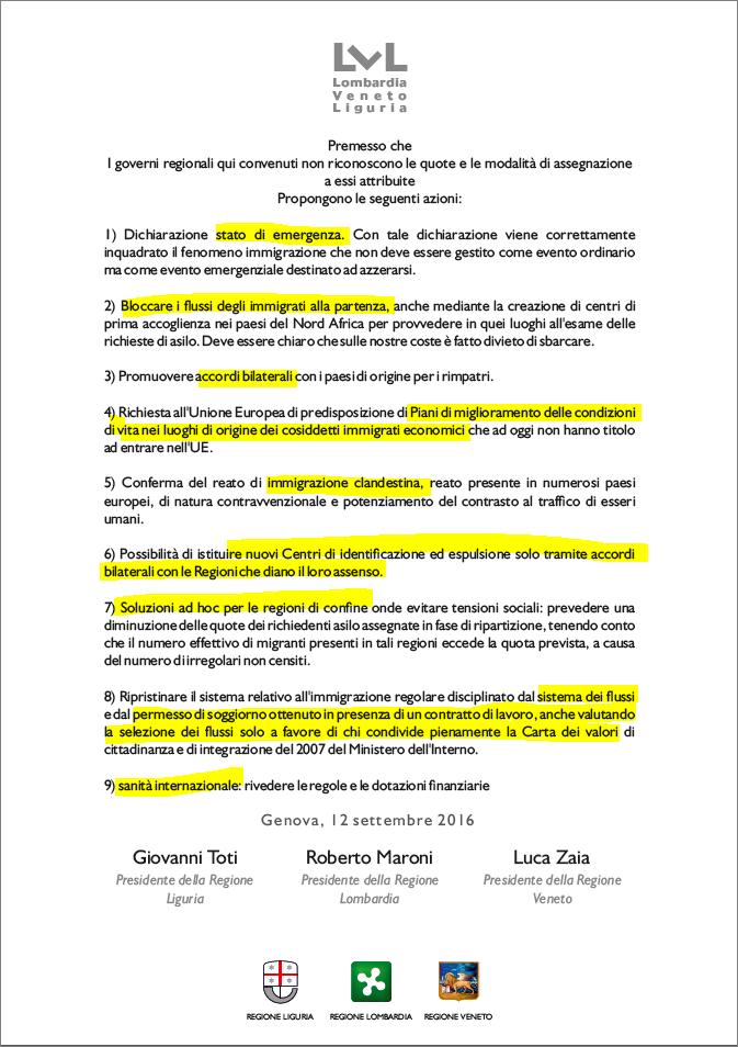 Trilaterale di Genova su immigrazione: ecco le proposte dei ...