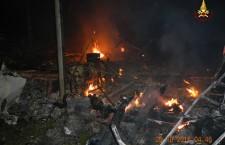 Belluno: ancora fiamme a Ronce –