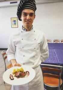 Uno studente di ENAIP VENETO di Feltre rappresenterà il Veneto alla finale del Campionato italiano di cucina.