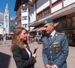 Intervista al Magg. Leonardo Landi, comandante del Nucleo Operativo della Guardia di Finanza di Roma.