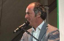 Il Governatore del Veneto Zaia.