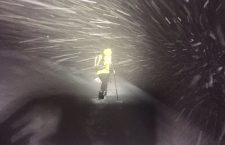 Foto di repertorio intervento notturno Soccorso Alpino