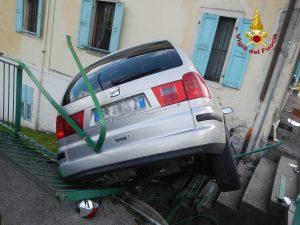 VALLE DI CADORE: INCIDENTE STRADALE A VENAS.