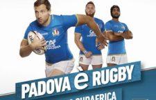 ITALIA V SUDAFRICA Credit Agricole Cariparma Test Match  sabato 25 novembre 2017, ore 15:00 STADIO EUGANEO – PADOVA