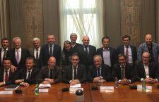 La riunione di Roma sui Fondi comuni Confinanti.