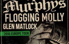 DROPKICK MURPHYS + FLOGGING MOLLY + GLEN MATLOCK