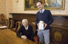 Sindaco Massaro e Teresa Bortot - 100 anni