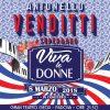 ANTONELLO VENDITTI & SUPERBAND VIVA LE DONNE  giovedì 8 marzo 2018, ore 21:30 GRAN TEATRO GEOX – PADOVA