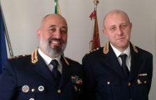 Da destra: i Dirigenti del Commissariato di Cortina Luigi Petrillo e della Squadra Mobile di Belluno Vincenzo Zonno