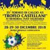 Trofeo Castellani 2018