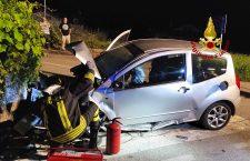 Le immagini dell'incidente a Cavassico Superiore