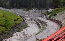 l'efficacia della briglia sopra Alverà a Cortina