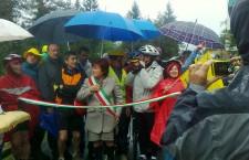 Pieve di Cadore: inaugurato nuovo tratto della Ciclabile delle Dolomiti.