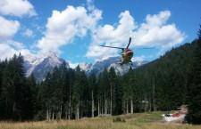 Raffica di interventi per elicottero Suem e Soccorso Alpino