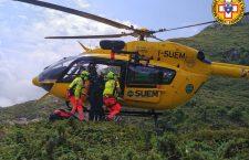 Elicottero Suem 118 - Foto Soccorso Alpino