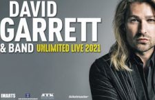 EVENTO RIPROGRAMMATO: David Garrett and His Band –  ZOPPAS ARENA – 19-10-2021 orario 21:15
