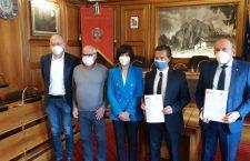 Dolomiti UNESCO:  firmato il protocollo con il Comune di Cortina d'Ampezzo per la nuova sede della Fondazione.