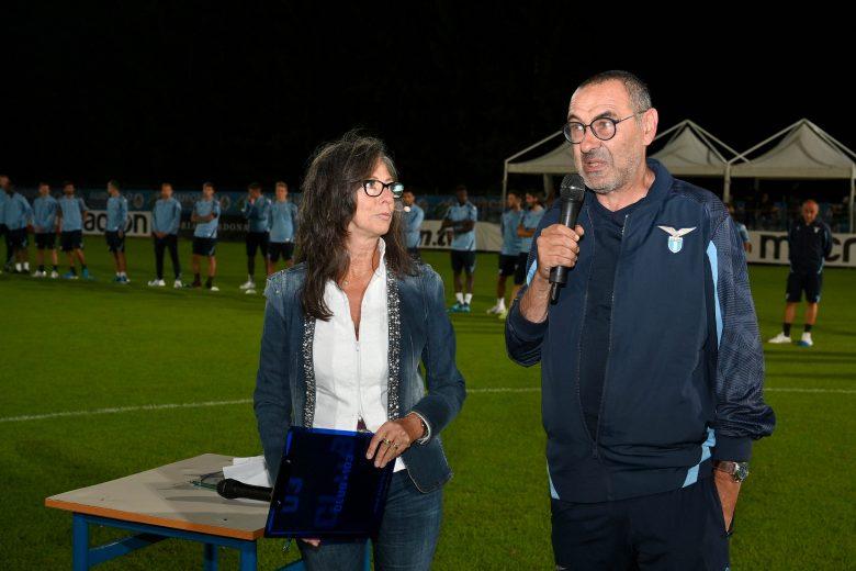 La presentazione della SS Lazio 2021