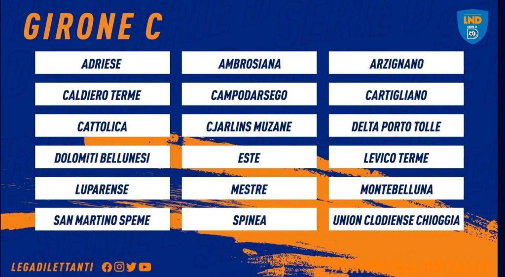 Calcio Serie D: è il C il girone della Dolomiti Bellunesi, fra vecchie conoscenze e una new entry.