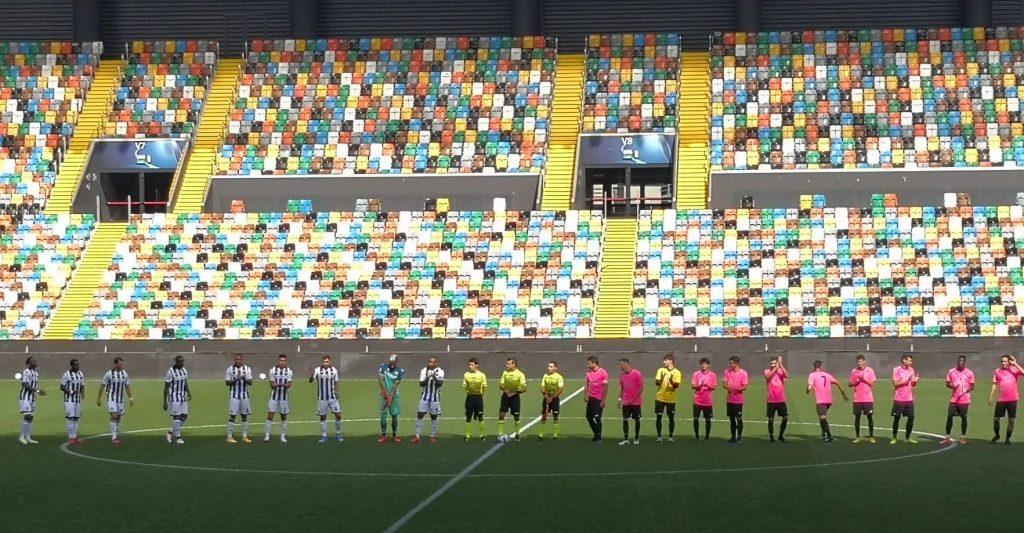 Calcio:  sconfitta onorevole per Dolomiti Bellunesi contro l'Udinese di Serie A.