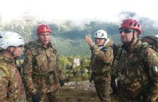 Cortina: esercitazione militare, ai nostri microfoni il Gen. di Corpo d'Armata Claudio Berto, Comandante Truppe Alpine