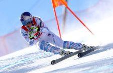 Ski World Cup 2018-2019.  Lindsey Vonn (USA). Cortina,18 gennaio 2019. Photo: Marco Trovati/Pentaphoto