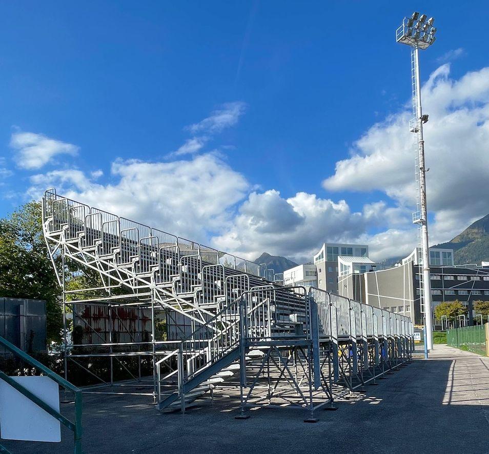 Calcio Serie D: Dolomiti Bellunesi, riapre lo stadio polisportivo di Belluno.